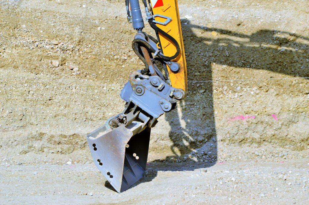 backhoe bucket, blade, excavators